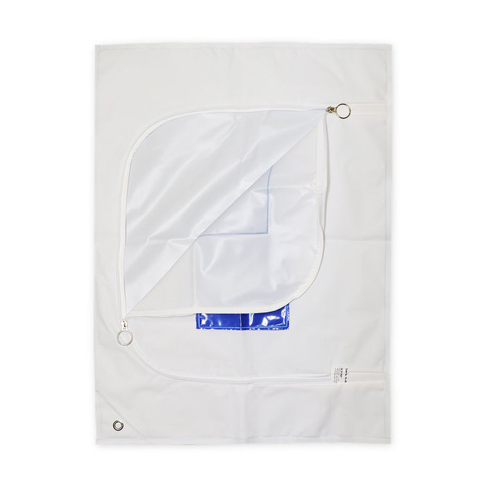 PEVA Infant Body Bag White, 62cm x 46cm