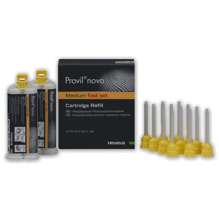 Provil Novo Medium Fast Set CD 2 x 50ml
