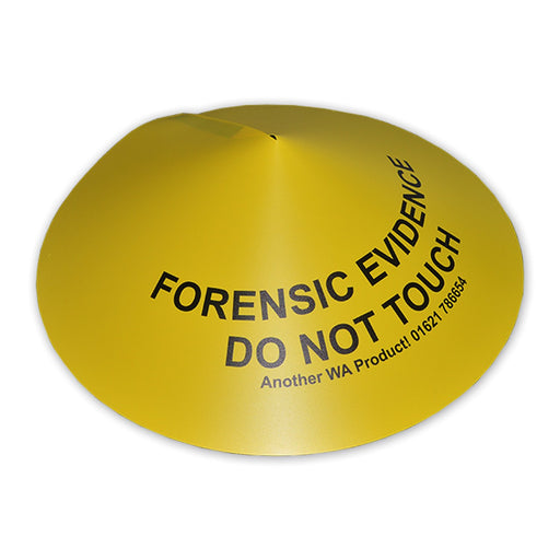 "Forensic Evidence Covers 20"" diameter"