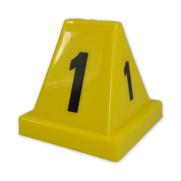 Evidence Markers Yellow 1-15