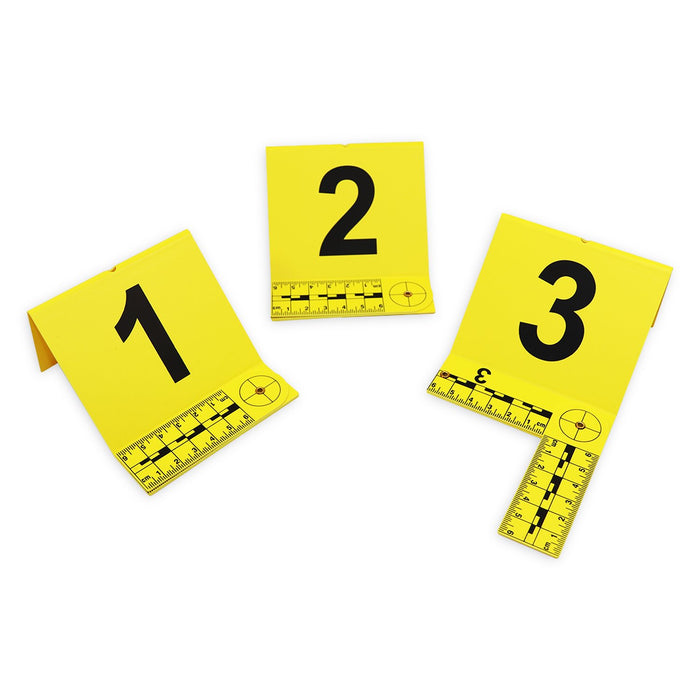 Evidence Marker With Foldable L Shape