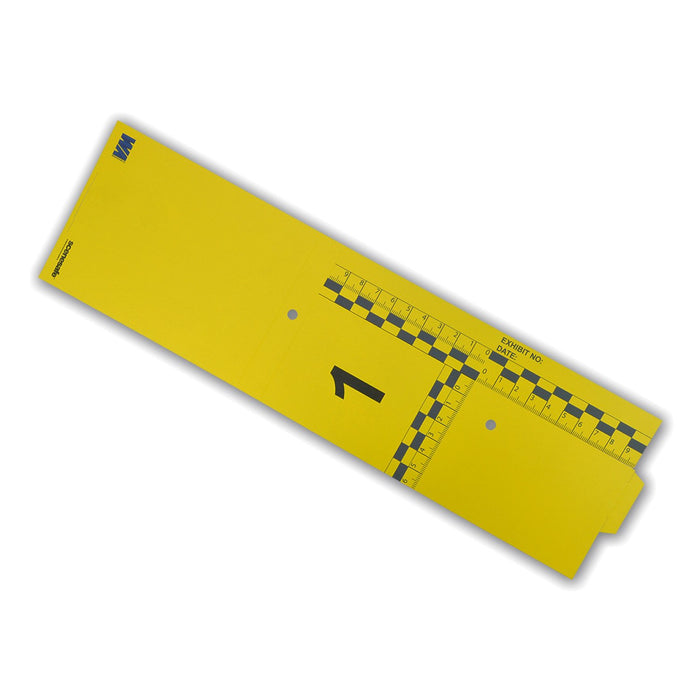 Disposable Evidence Markers Yellow 1-15