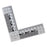 8x8cm Magnetic L Shape Reference Scale