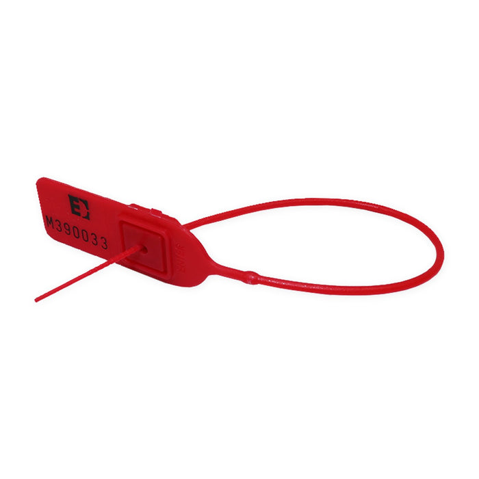 Security Seal Red 200mm Minijawlock