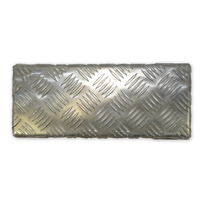 "Treadplate Aluminium 12"" x 6"" x 3mm"