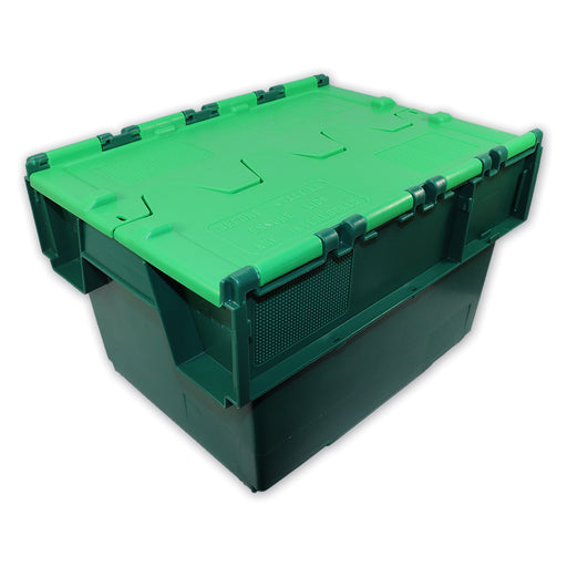 Croc Box Attached Lid Container