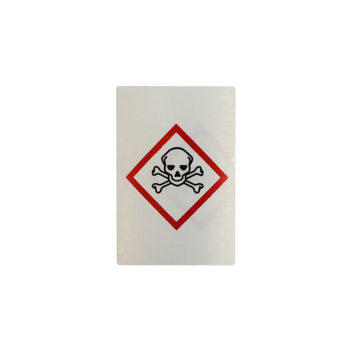 "S/A Hazard Warning Label ""Toxic"""