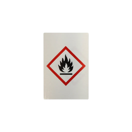 "S/A Hazard Warning Label ""Flammable"""