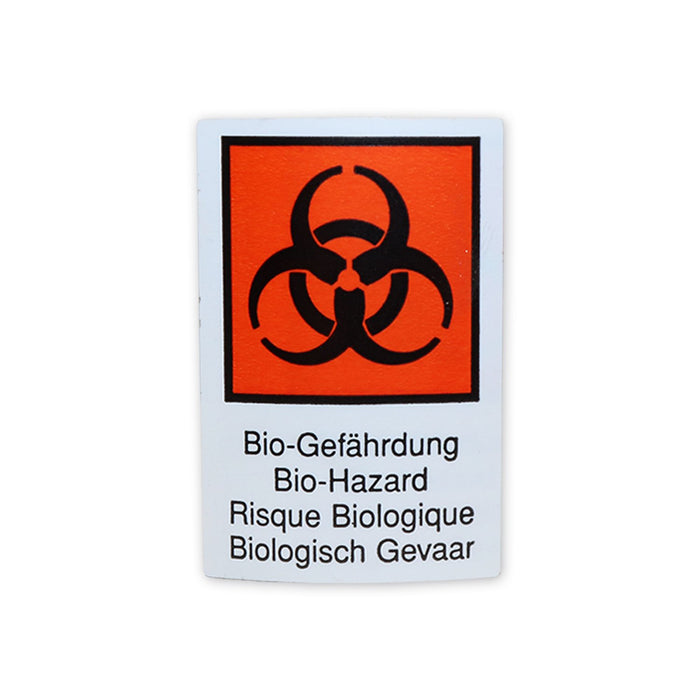"S/A Hazard Warning Label ""Biohazard"""