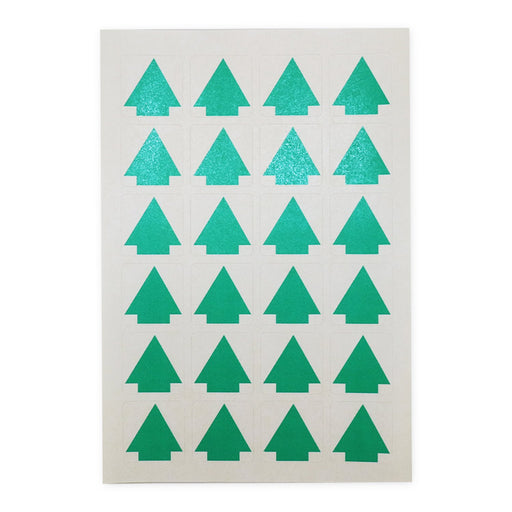 Label Green Arrow 25mm x 25mm