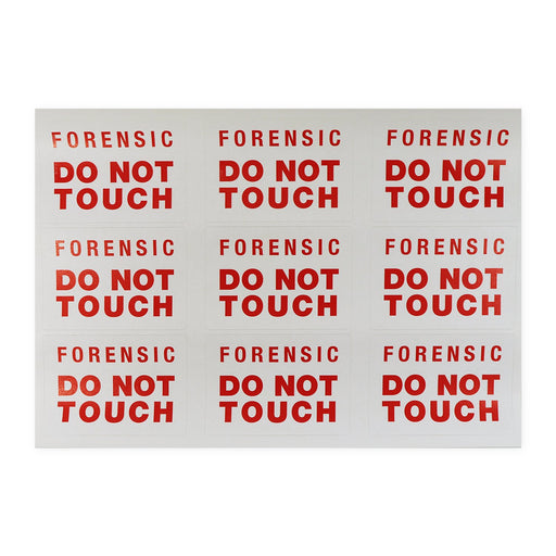 "Label ""Forensic Do Not Touch"""