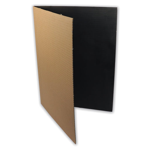 Creased Board Folder (Black Inside)