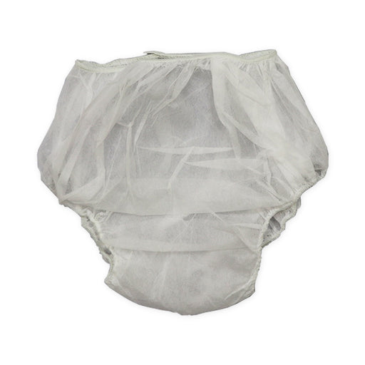 Disposable Unisex Briefs White