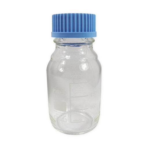 Pyrex Glass Bottle Clear Glass