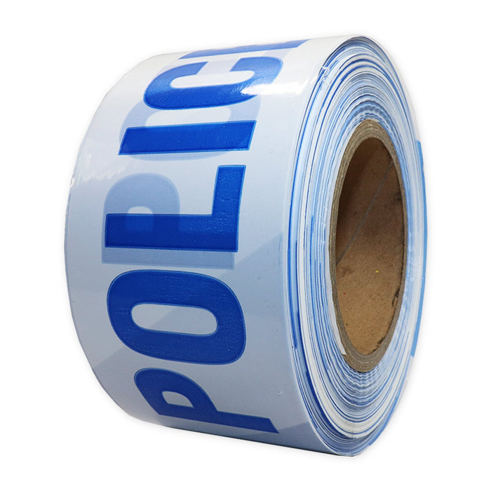 "Barrier Tape ""Police"" Blue / White"
