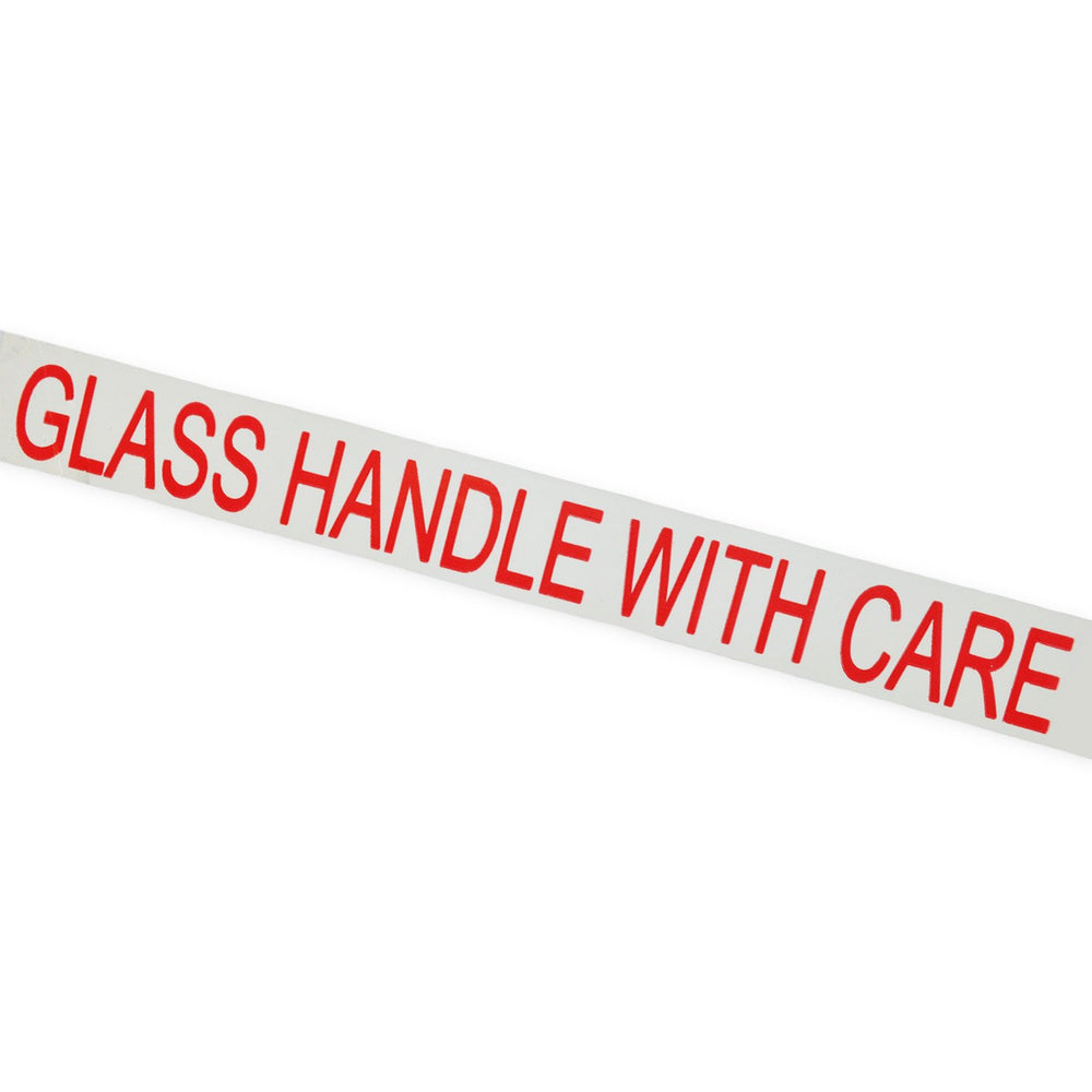 "Printed Tape ""Glass Handle With Care"""