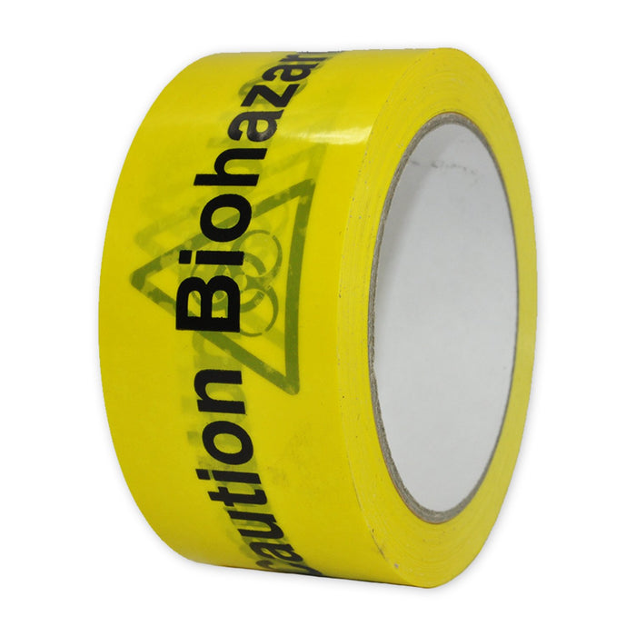 "Vinyl printed Tape ""Caution Biohazard"""