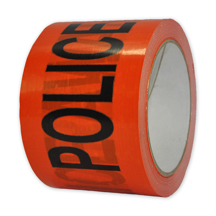 "Printed Tape ""POLICE AWARE"""