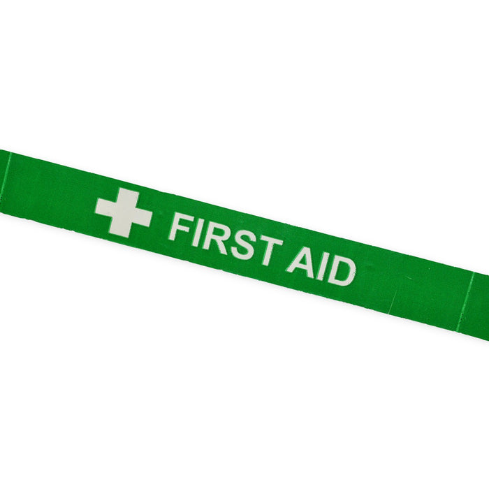 "Printed Tape ""FIRST AID"" + Symbol"