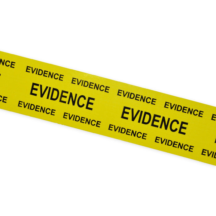 "Printed Tape ""Evidence"" 50mm x 66m"