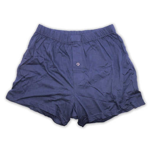Male Fabric Boxer Shorts Black