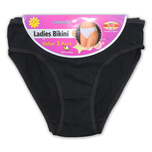 Black Basic Briefs