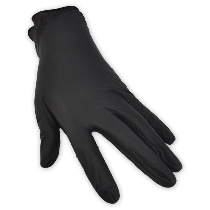 Nitrile Black Gloves