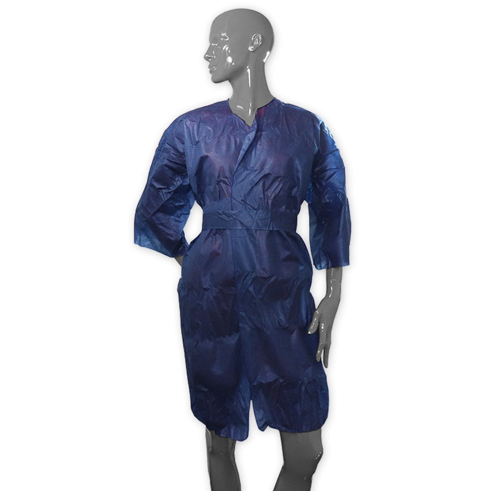 Medical Examination Gown With Belt