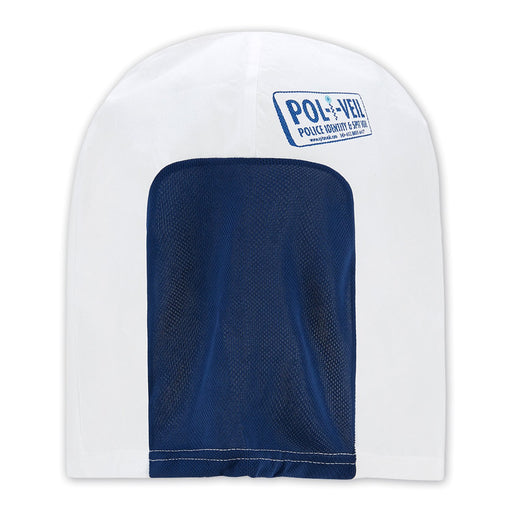 Pol-i-Veil Hood Blue for Police Use