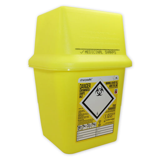 Sharps Disposal 'Sharp Safe' 4 ltr
