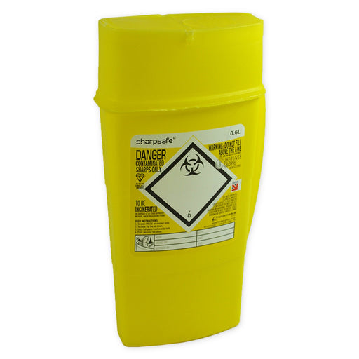 """Community Sharp Safe"" Bin 0.6 ltr"