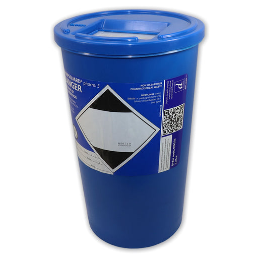 5L Daniels Sharps Bin For Solid-Dose