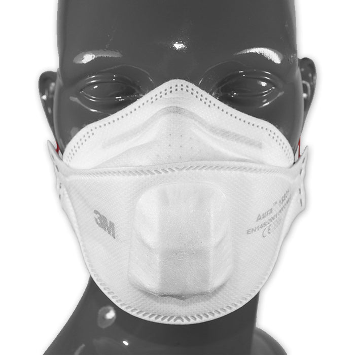 3M Aura 1883+ P3 Shrouded Mask