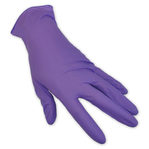 Halyard Purple Nitrile Gloves
