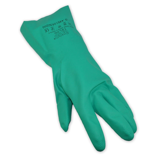 Chemical Nitrile Green Gloves