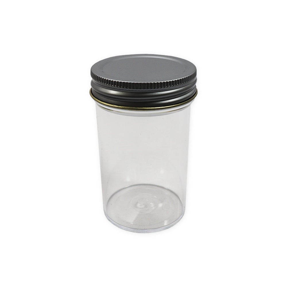 100ml Container Unlabelled Metal Cap