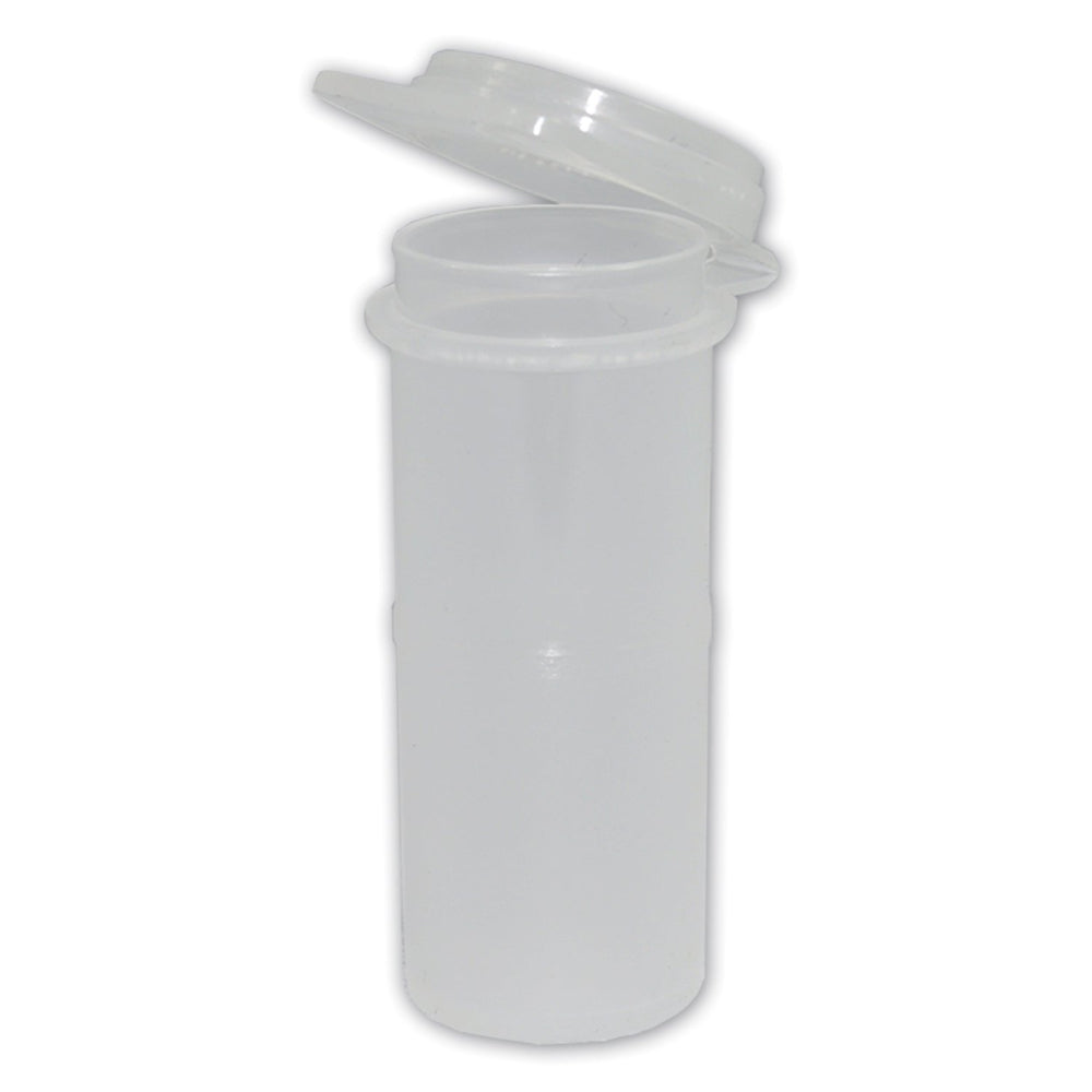 11ml Container 20mm x53mm c/w Hinged Cap