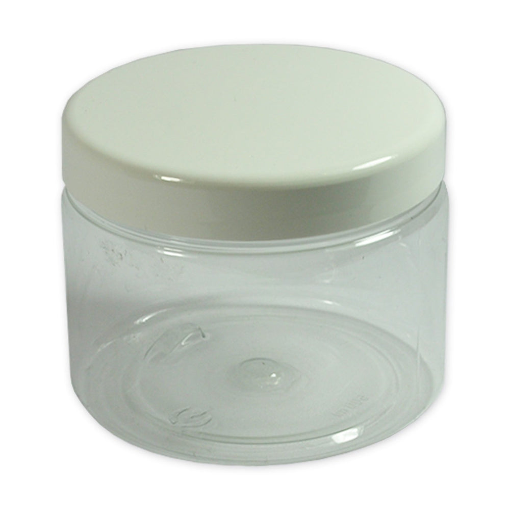 500ml Clear PET Jar With Lid