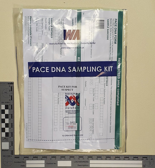 England & Wales PACE DNA Sampling Kit - Suspect