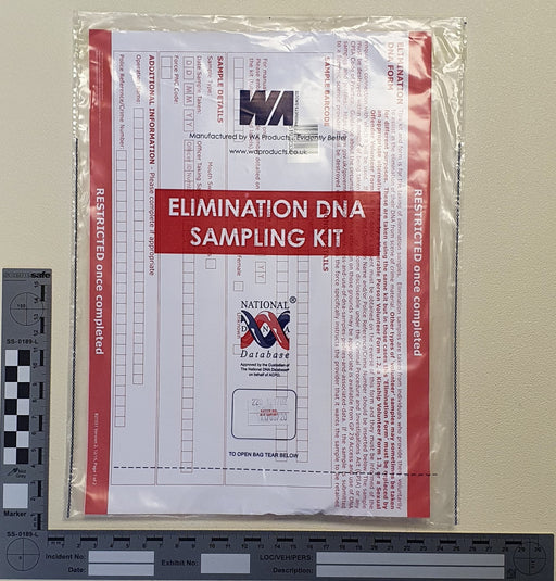 England & Wales PACE DNA Sampling Kit - Elimination