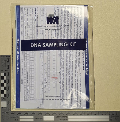 England & Wales PACE DNA Sampling Kit - CED