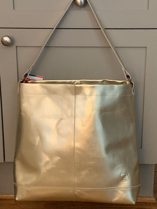 Better Tote Gold Leather