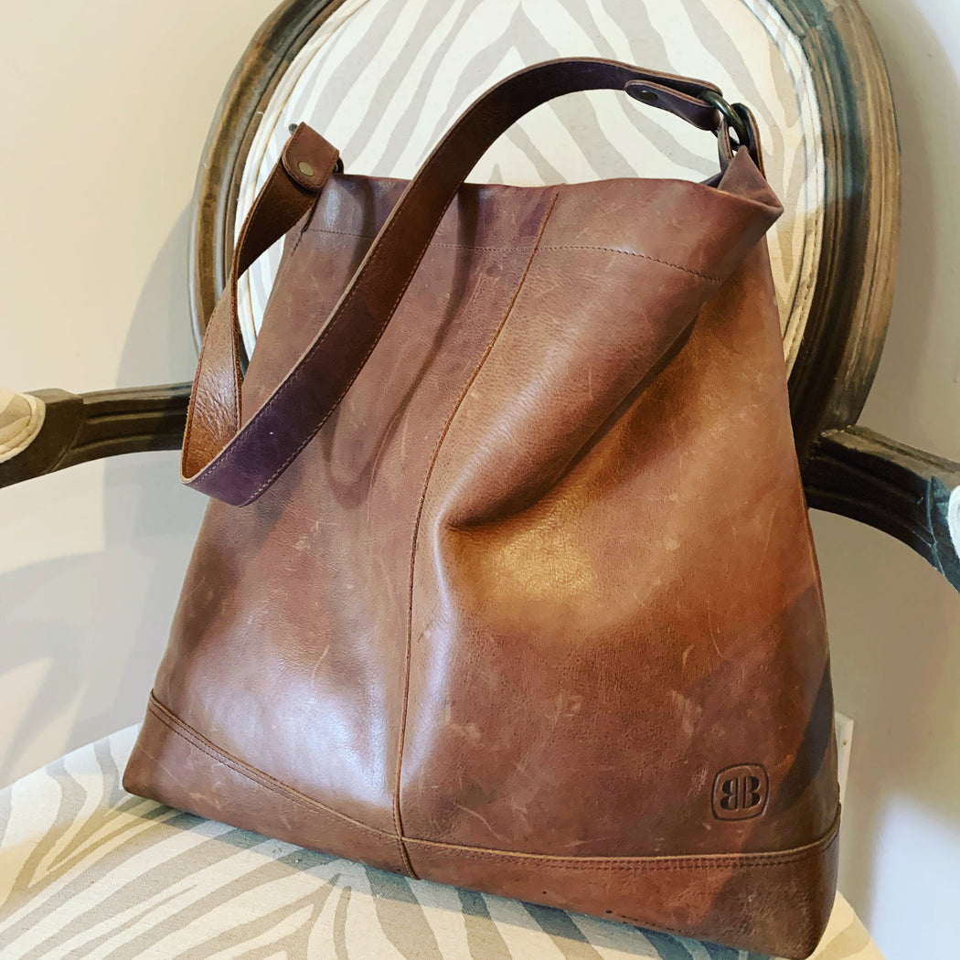 Better Tote Brown Leather