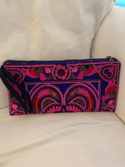 Better Embroidered Clutch