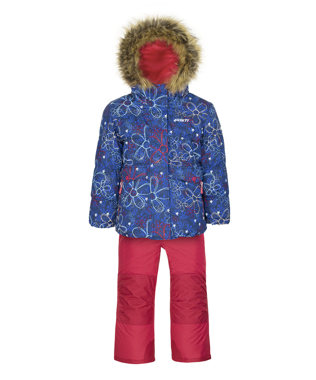 ANY - Estate Blue - Girls Jacket and Snow Pant Set