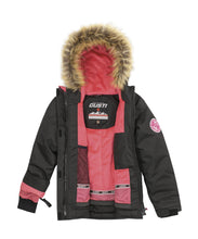 Load image into Gallery viewer, EVNA - Black - Girls Jacket and Snow Pant Set