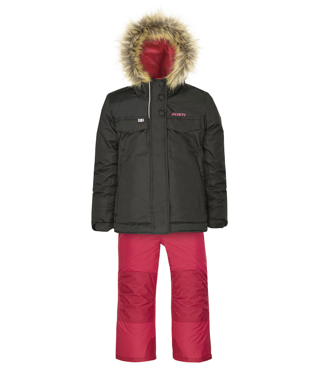 EVNA - Black - Girls Jacket and Snow Pant Set