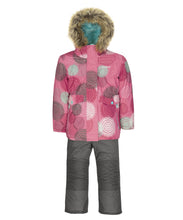Load image into Gallery viewer, GAELLE - Pink - Girls Jacket and Snow Pant Set
