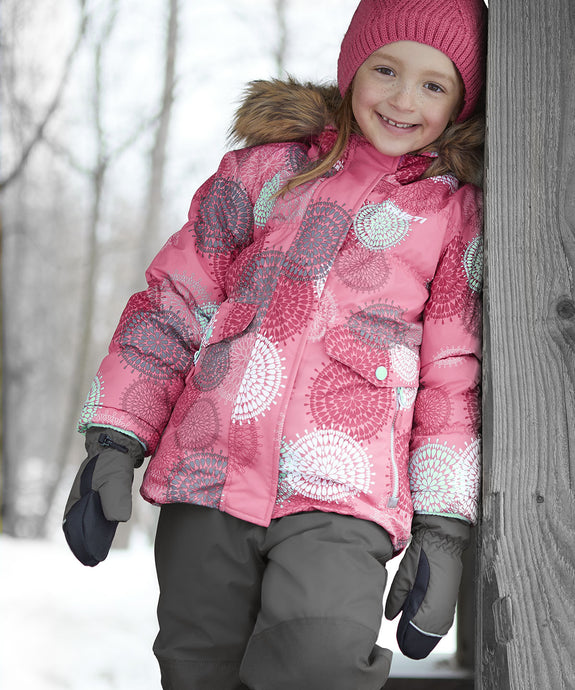 GAELLE - Pink - Girls Jacket and Snow Pant Set