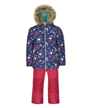 Load image into Gallery viewer, PALONE - Estate Blue - Girls Jacket and Snow Pant Set